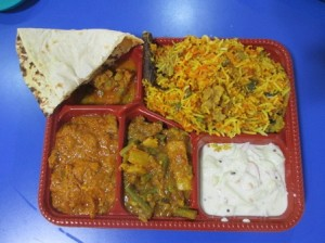 Great Indian meal in Food Court (will make two meals)