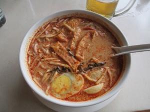 Prawn Laksa (curry) with Tofu