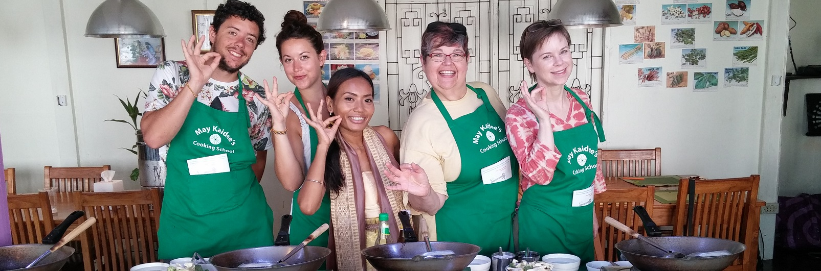Bangkok Thailand: May's Cooking Class